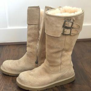 Ugg Australia ZipBuckle Boots S/N5946 Ladies Size8